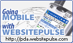 WebSitePulse PDA optimized version